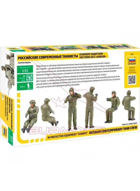 Figuras rusas de combate escala 1/35. Tamaño 5cm