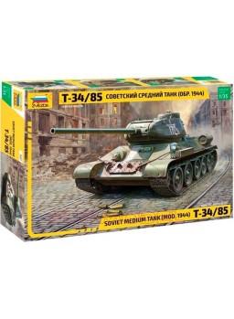 Tanque soviético 1944 modelo T-34/85
