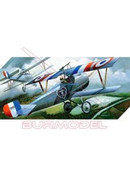 Maqueta avión Nieuport 17 Primera Guerra Mundial