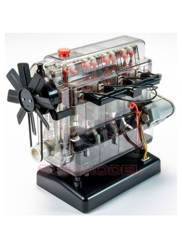 Maqueta Motor 4 cilindros