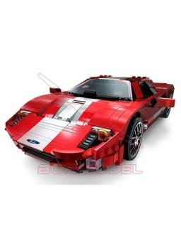 Construcción por bloques coche rojo Phantom