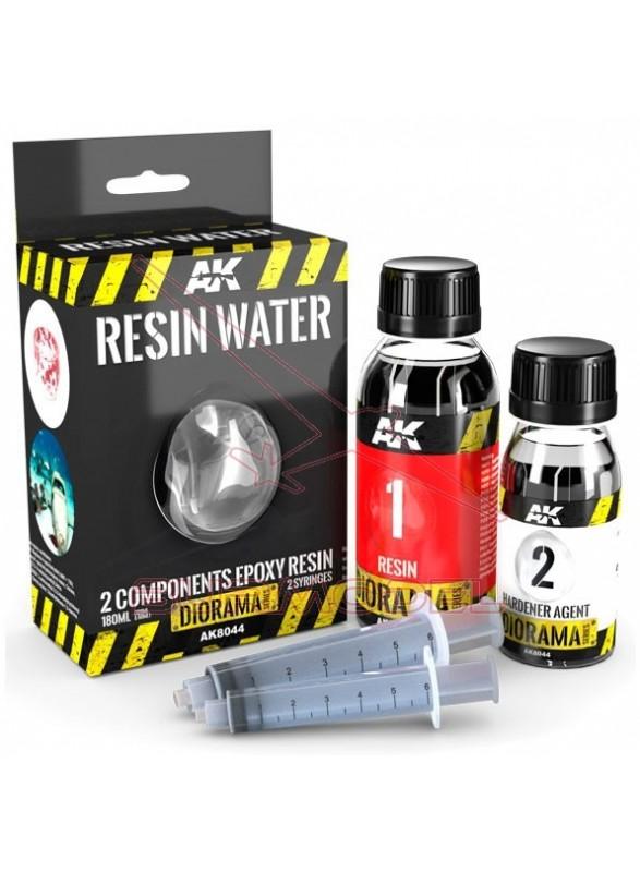 Resing Water Ak Interactive 180ml Diorama efects