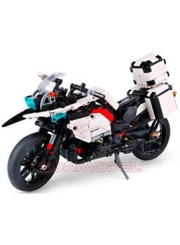 Maqueta moto Patrol 1075 piezas tipo LEGO