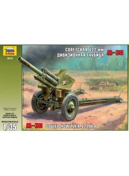 Soviet Howitzer 122mm M-30 Zvezda escala 1/35