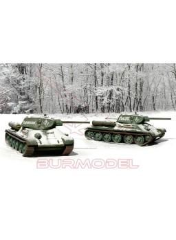 Carro de combate T-34/76 m42 (2 unidades)