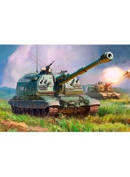 Tanque propulsado ruso MSTA-S 152mm 1/35