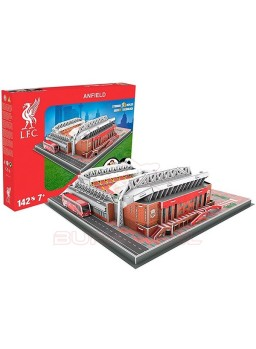 Estadio 3 dimensiones Anfield, Liverpool FC