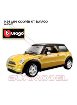 Mini Cooper (2001) 1/24 Kit metal y plástico