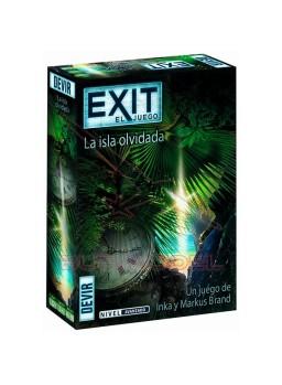 Juego de mesa Exit La isla olvidada