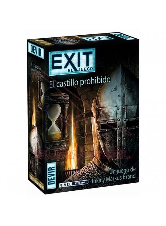Juego de mesa Exit El castillo prohibido