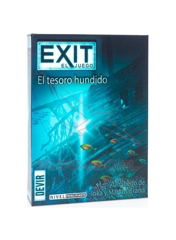 Juego de mesa Exit El tesoro hundido