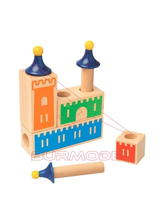 Juego de lógica Castle Logix 4 niveles