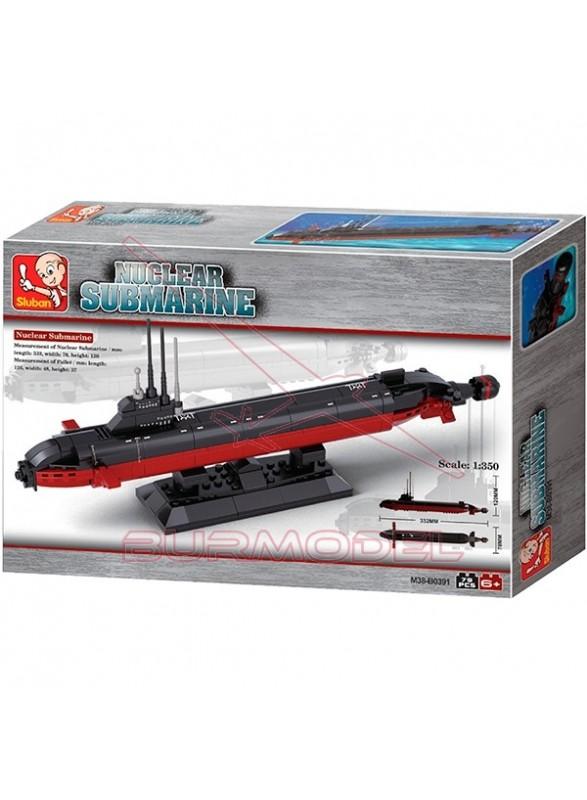 Sluban Army Nuclear Submarine 193 piezas