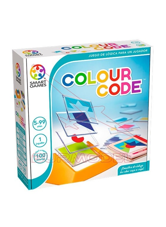 Juego de lógica Colour Code (100 desafíos)