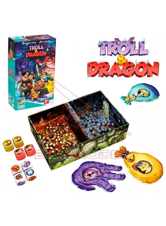 Juego de mesa Troll and Dragon