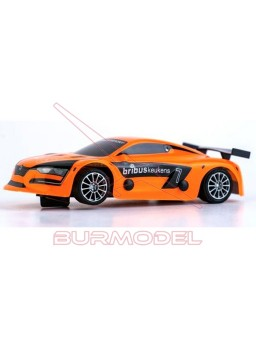 Coche slot Renault RS Orange 1/32