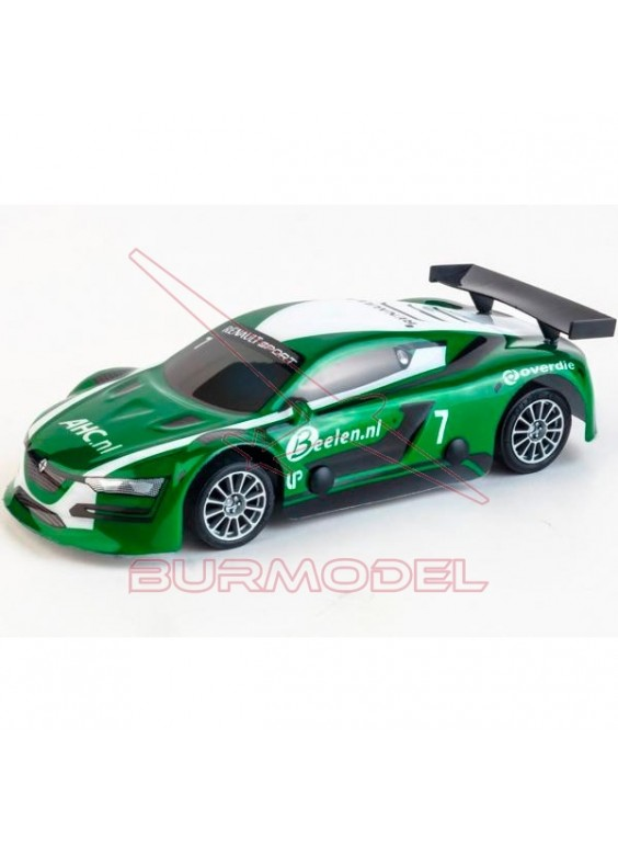 Coche slot Renault RS Green 1/32