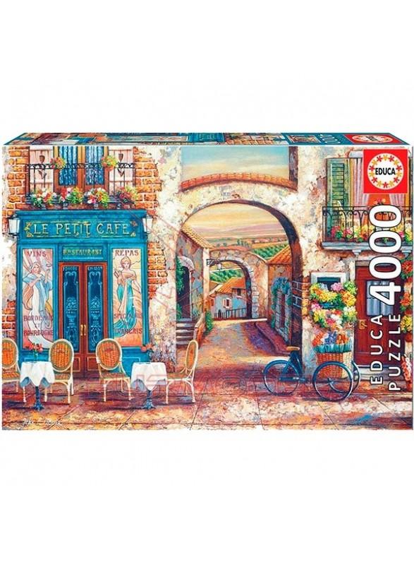 Puzzle 4000 piezas le peti cafe