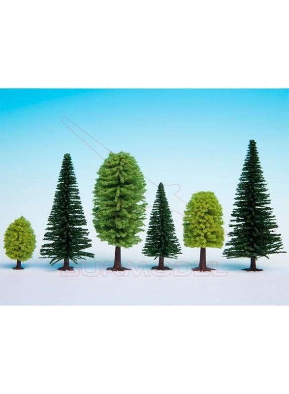 Bosque mixto 25 árboles 5-14cm