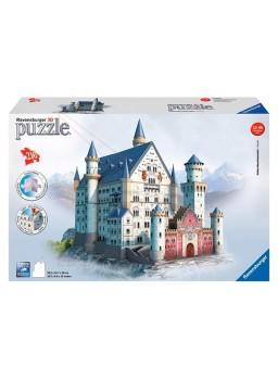 Castillo Neuschwanstein tridimensional 216pzs