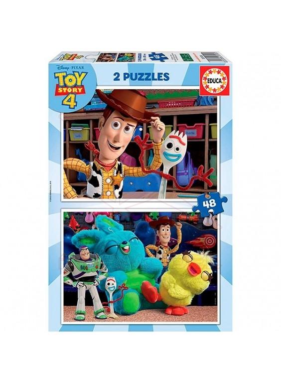 Puzzle 2x48 Toy Story FSC