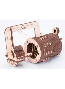 Maqueta madera Combination lock