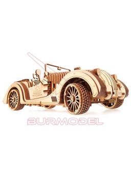 Maqueta de madera Roadster