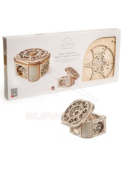 Maqueta de madera La caja del tesoro