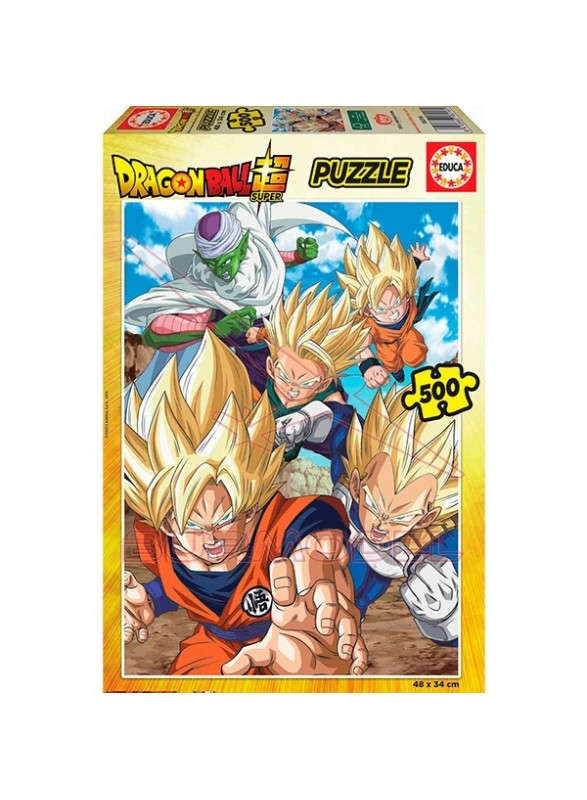 Puzzle 500 piezas dragon ball