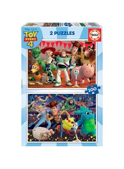 Puzzle 2x100 Toy Story