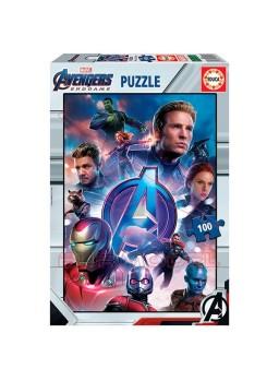 Puzzle 100 piezas avengers