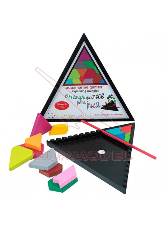 Juego de ingenio triángulo expansivo