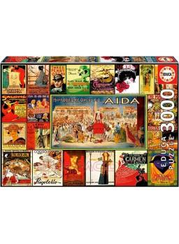Collage de operas puzzle 3000 piezas