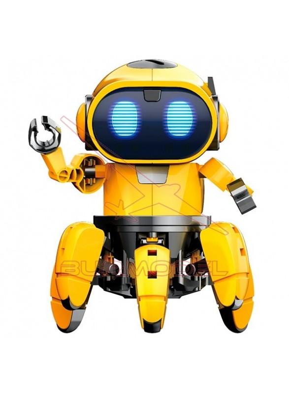 Robot Tibo con leds 2 modos y 110 piezas