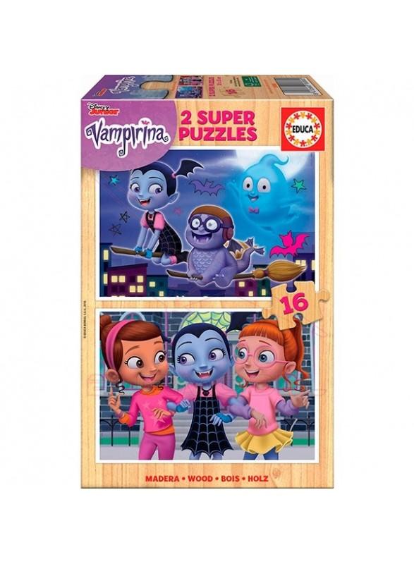 Set 2 puzzles vampirina
