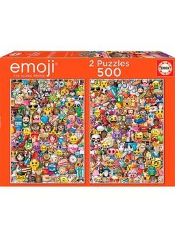 2 Puzzles 500 piezas emoji