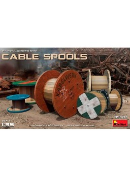 Cable Spools 1/35 MiniArt accesorios