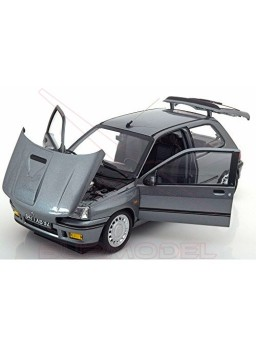 Réplica Renault Clio 16S 1991-Tungstene Grey 1:18
