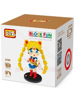 Construcción LOZ Sailor Moon 730 piezas