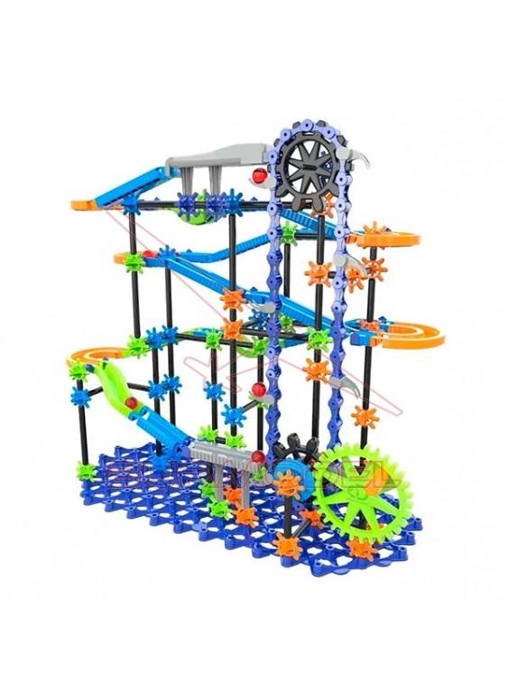 Circuito de canicas para montar con 341 piezas
