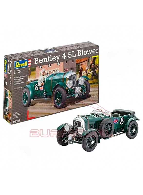 Maqueta montar Bentley 4.5 L Blower