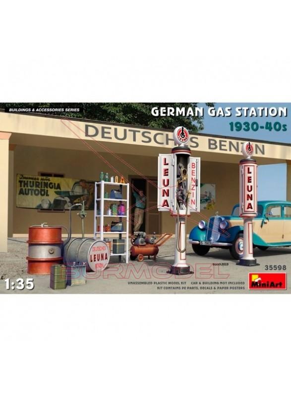 Gasolinera alemana 1930-40s 1/35