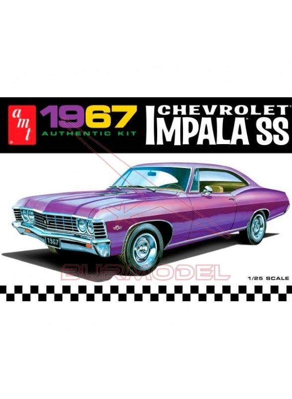 Maqueta Chevy Impala SS 1967 1/25