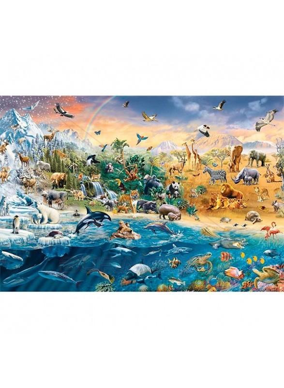Puzzle 1500 piezas Mundo salvaje