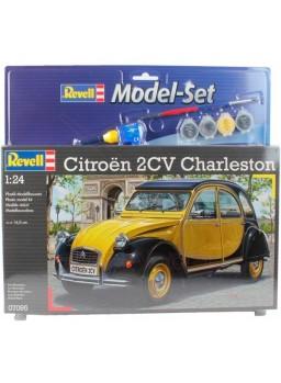 Maqueta Citroen 2CV Charlestone Model Set Revell