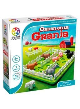Juego infantil Orden en la granja. Smart Games