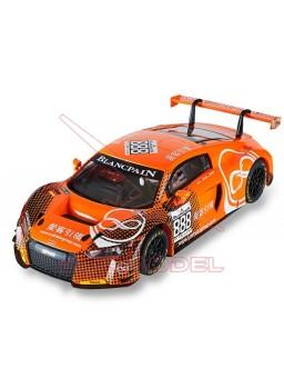 "Coche Scalextric Audi R8 LMS GT3 ""MotorSport"" 1/32"