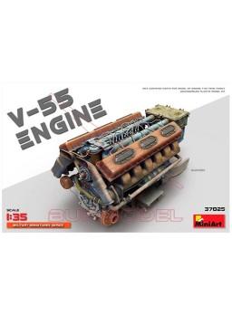 Maqueta Motor V-55 1/35 MiniArt