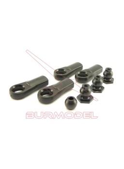 Rotulas y bolas de barra rigidificadora Hyper 7