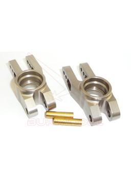 Manguetas traseras aluminio CNC